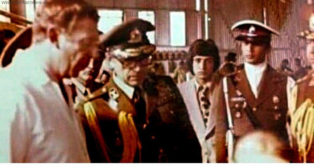 دیدار شاهپور غلامرضا پهلوی از مدرسه صنعتی ارتش ایران در مسجدسلیمان
