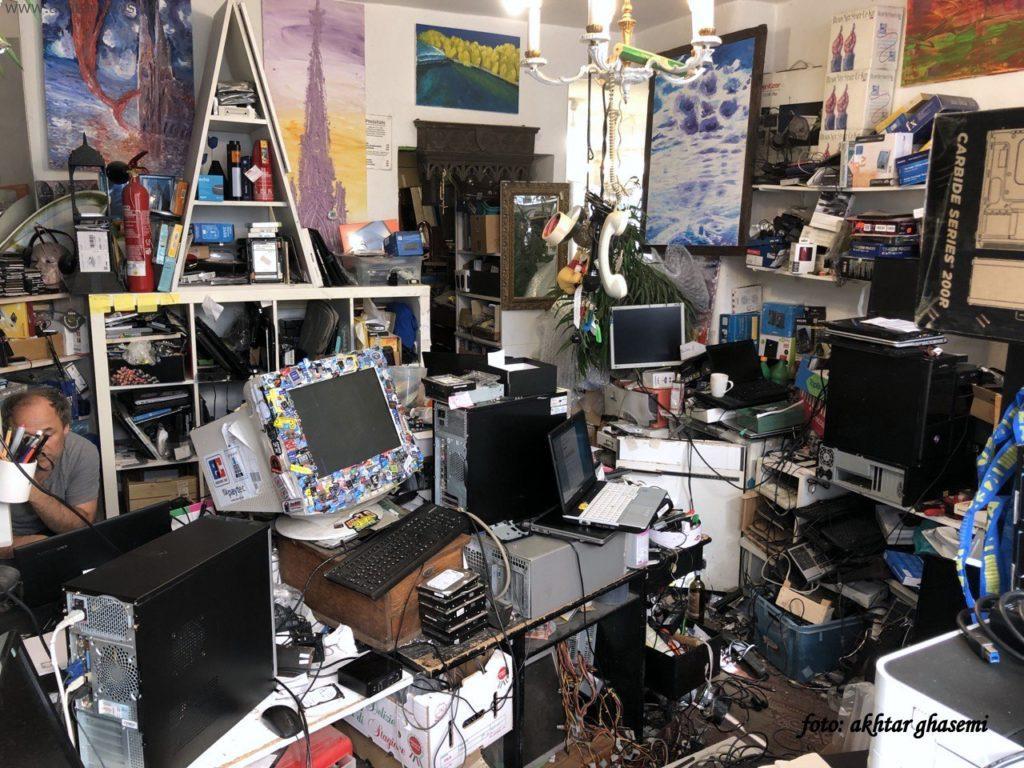 مغازه ی کامپیوتر در کلن