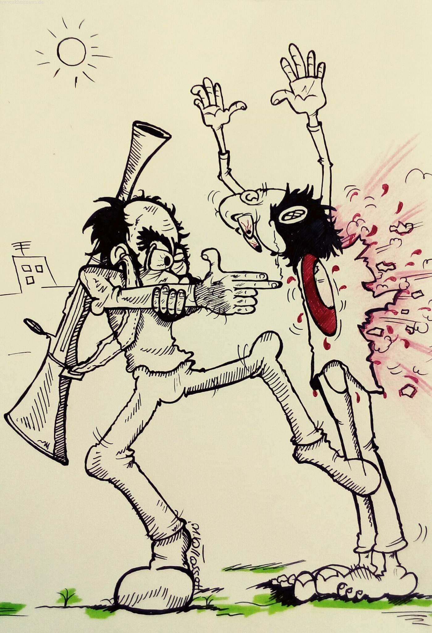 Cartoon by meysam