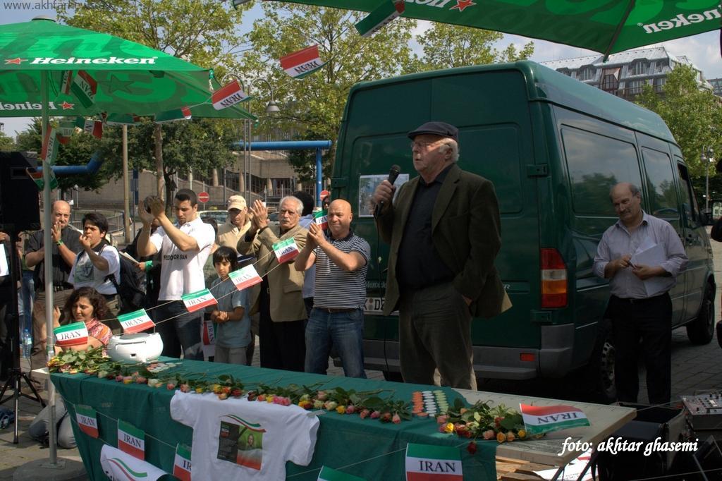 تظاهرات ایرانیان کلن 2009