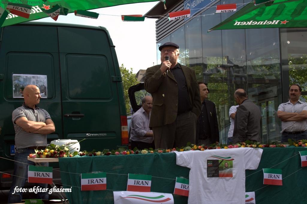 نوبرت بلوم وزیر پیشین کار آلمان در دفاع از جنبش دمکراسی خواهی مردم ایران