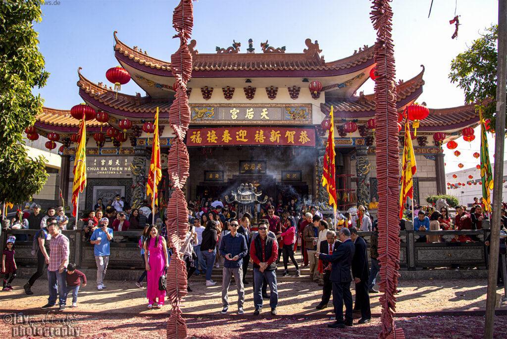محله چینی ها در لس آنجلس